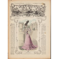Revue complète de La Mode Illustrée 1906 N°24