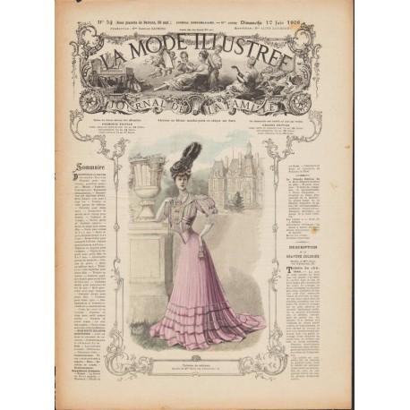 magazine La Mode Illustrée 1906 N°24