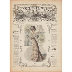 Complete magazine La Mode Illustrée 1906 N°12
