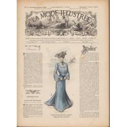 Complete magazine La Mode Illustrée 1903 N°27