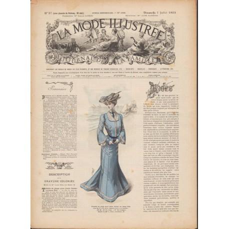 magazine La Mode Illustrée 1903 N°27