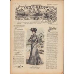 Complete magazine La Mode Illustrée 1902 N°17