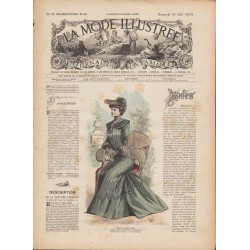 Complete magazine La Mode Illustrée 1902 N°21
