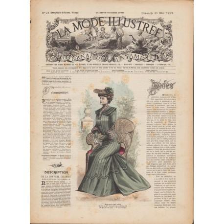 Revue La Mode Illustrée 1902 N°21