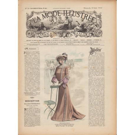 magazine La Mode Illustrée 1902 N°26