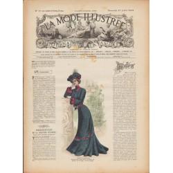 Complete magazine La Mode Illustrée 1902 N°30