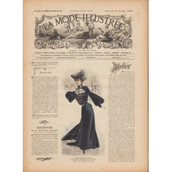 Complete magazine La Mode Illustrée 1902 N°42