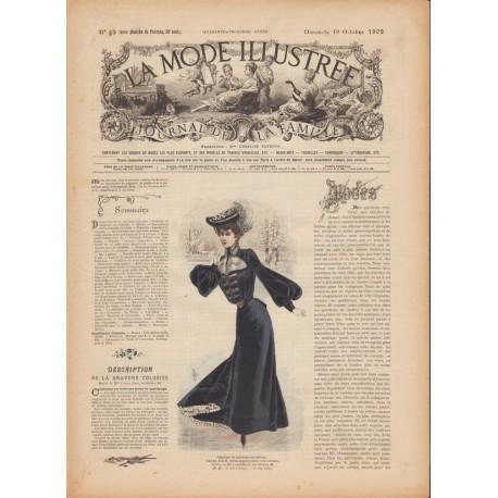 magazine La Mode Illustrée 1902 N°42