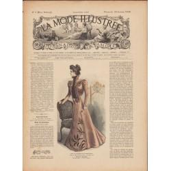 magazine La Mode Illustrée 1899 N°05