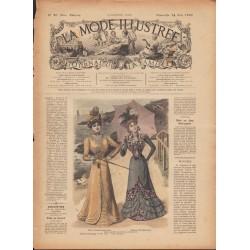 Revue complète de La Mode Illustrée 1899 N°20