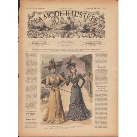 magazine La Mode Illustrée 1899 N°20