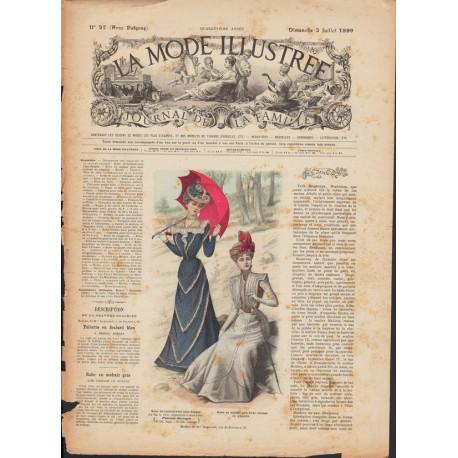 magazine La Mode Illustrée 1899 N°27