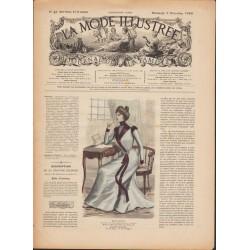 Revue complète de La Mode Illustrée 1899 N°49