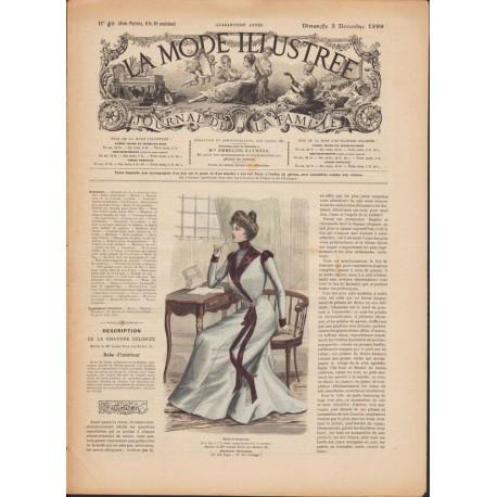 magazine La Mode Illustrée 1899 N°49