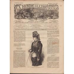 Complete magazine La Mode Illustrée 1879 N°10