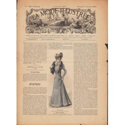 Complete magazine La Mode Illustrée 1899 N°01