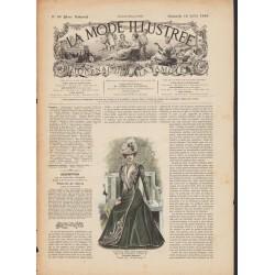 Complete magazine La Mode Illustrée 1899 N°29
