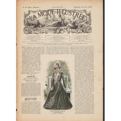 magazine La Mode Illustrée 1899 N°29