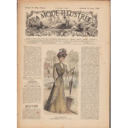 Revue complète de La Mode Illustrée 1899 N°12