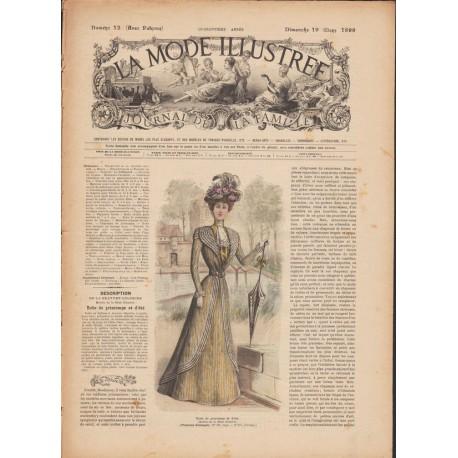 magazine La Mode Illustrée 1899 N°12