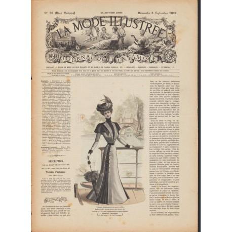 magazine La Mode Illustrée 1899 N°36