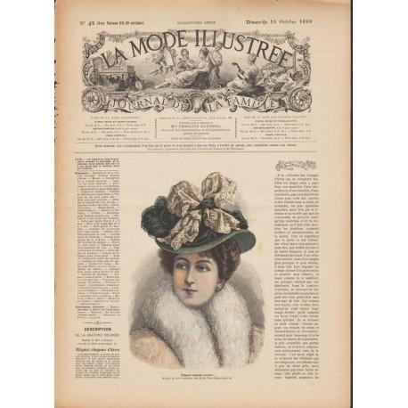 magazine La Mode Illustrée 1899 N°42