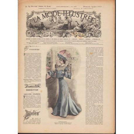 magazine La Mode Illustrée 1903 N°24