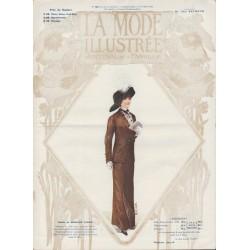 Complete magazine La Mode Illustrée 1911 N°43