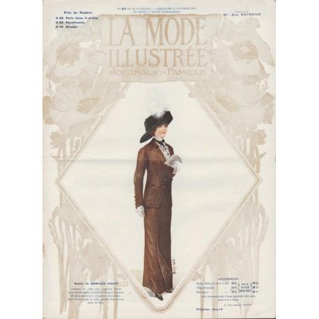 magazine La Mode Illustrée 1911 N°43