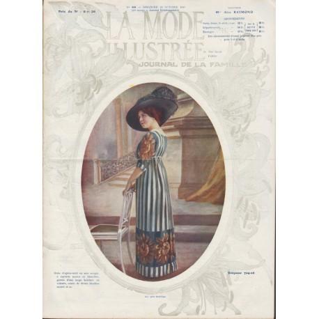 magazine La Mode Illustrée 1911 N°44