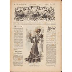 Complete magazine La Mode Illustrée 1903 N°33