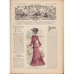 Complete magazine La Mode Illustrée 1902 N°34