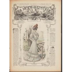 Complete magazine La Mode Illustrée 1906 N°32