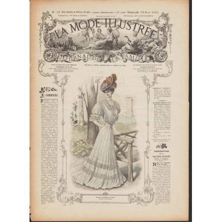 magazine La Mode Illustrée 1906 N°32