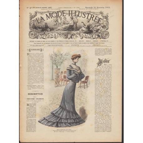 magazine La Mode Illustrée 1903 N°48