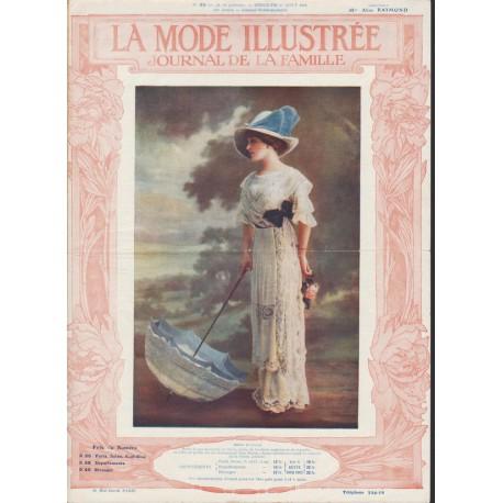 magazine La Mode Illustrée 1911 N°35