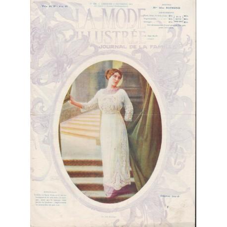magazine La Mode Illustrée 1911 N°36