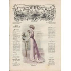 Complete magazine La Mode Illustrée 1908 N°47