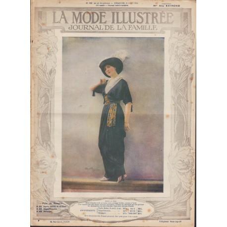 magazine La Mode Illustrée 1913 N°32