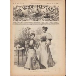 Complete magazine La Mode Illustrée 1894 N°32