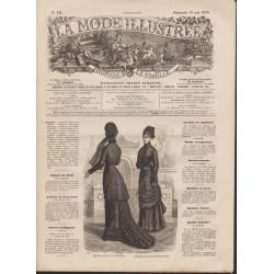magazine La Mode Illustrée 1878 N°19