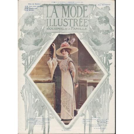 magazine La Mode Illustrée 1911 N°26