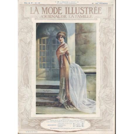 Revue La Mode Illustrée 1911 N°27