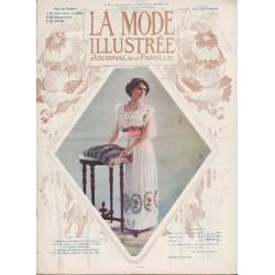 Revue La Mode Illustrée 1912 N°08