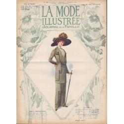 Complete magazine La Mode Illustrée 1912 N°39