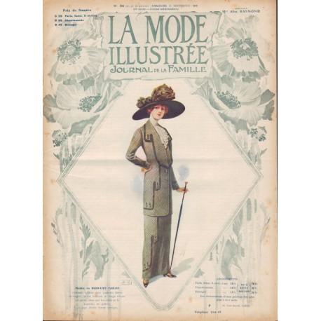 magazine La Mode Illustrée 1912 N°39