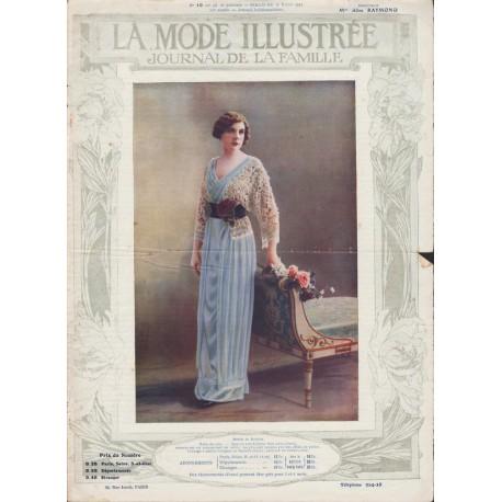 magazine La Mode Illustrée 1912 N°10