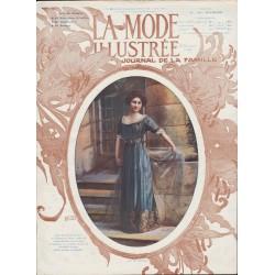 magazine La Mode Illustrée 1911 N°19