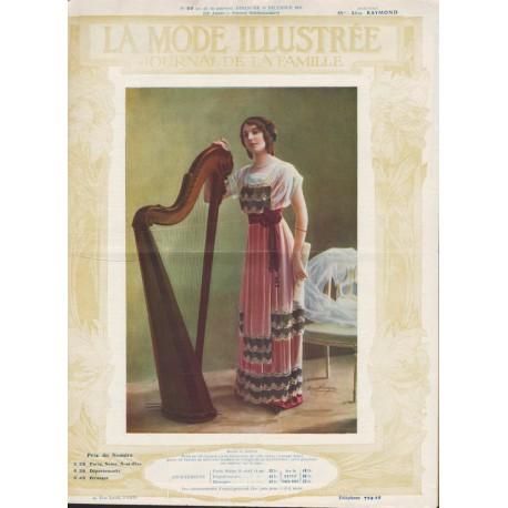 magazine La Mode Illustrée 1911 N°50
