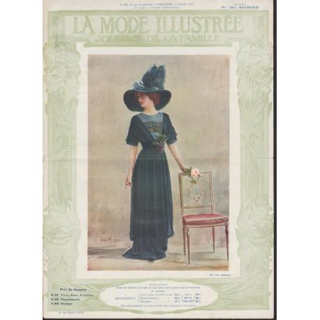 Revue La Mode Illustrée 1911 N°11